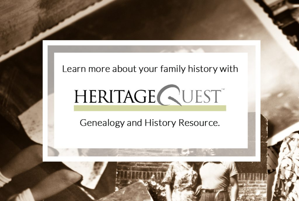 heritage quest geneology resource online
