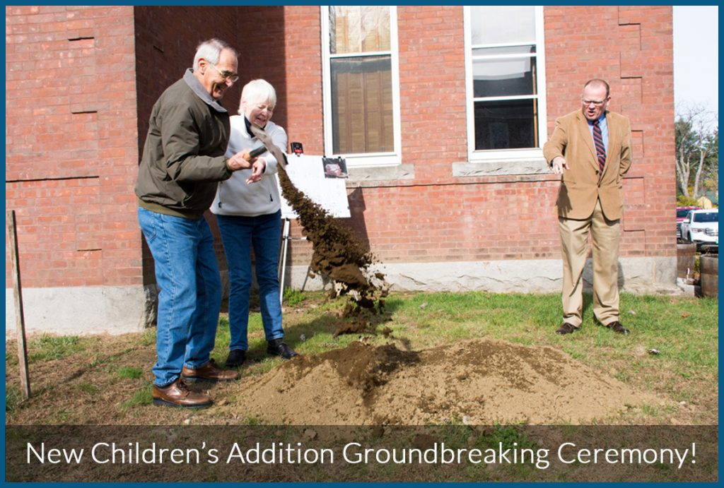 weathersfield proctor library groundbreaking ceremony